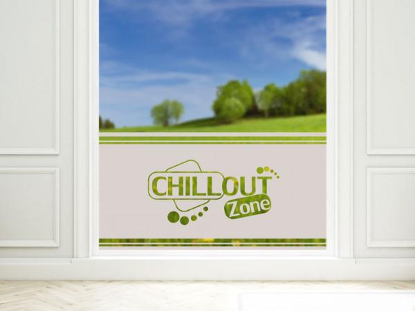 Sichtschutzfolie Chillout Zone Wohnzimmer Schlafzimmer