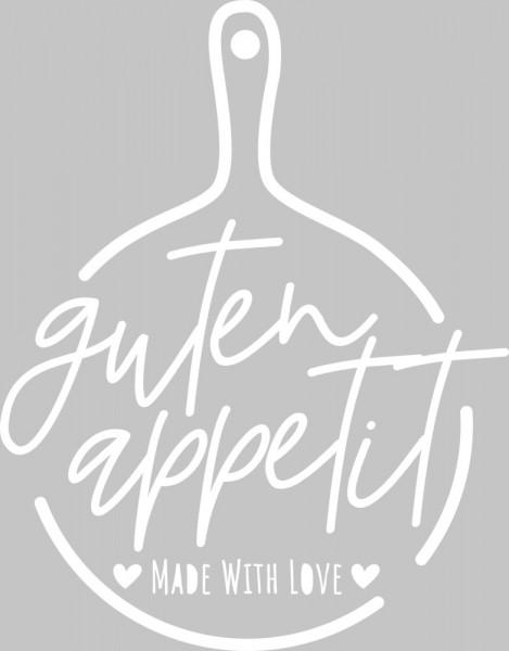 Wandtattoo Guten Appetit - made wiht love