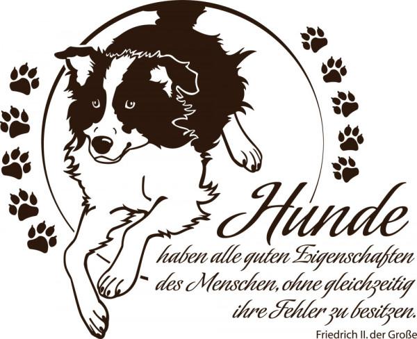 Wandtattoo Tiere Sprüche für Wohnzimmer Spruch Hunde haben alle guten Zitat