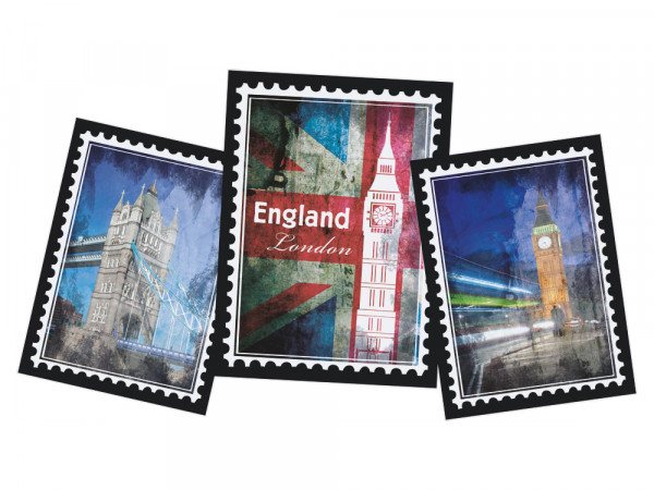 Wandtattoo Welt für Wohnzimmer England London Big Ben
