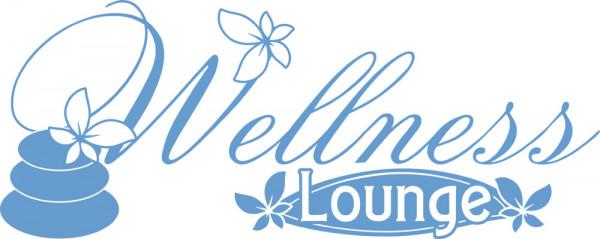 Wandtattoo für Bad Wellness Lounge