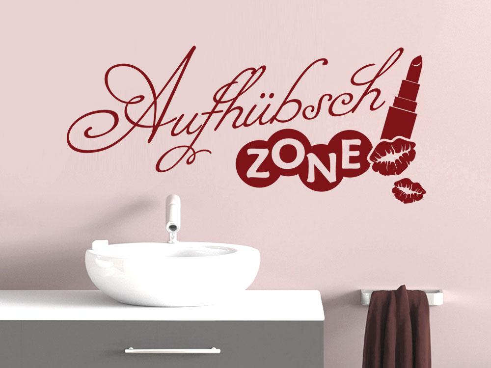 wandtattoo f r bad aufh bschzone spruch spr che badezimmer wandtattoo graz design. Black Bedroom Furniture Sets. Home Design Ideas