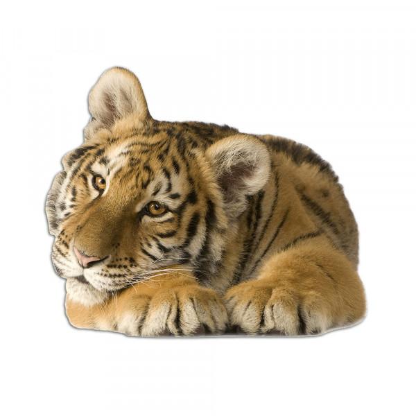 Wandsticker Tiger liegend Tier