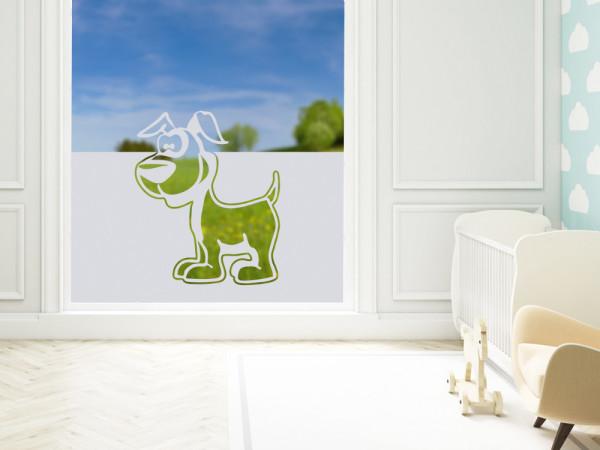 Sichtschutzfolie Hund