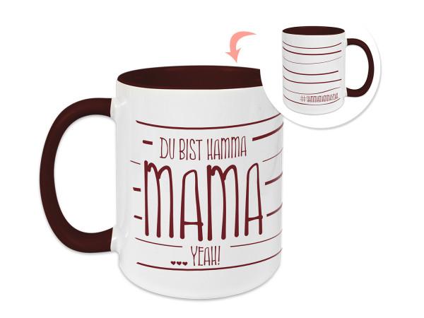 Tasse Du Bist Hamma Mama - zum Muttertag