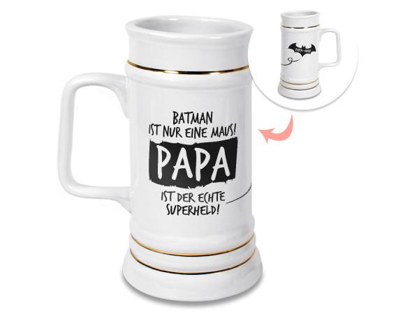 Bierkrug für Papa, Superheld
