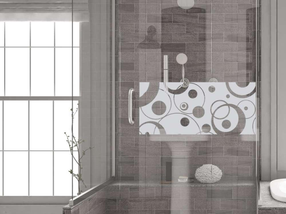 Schön Glasdekor Fensterfolie Aufkleber Sichtschutz Badezimmer WC Bad Dusche Retro    Bad   Fenstertattoo   Fensterfolie   Graz Design