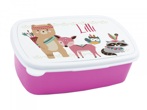 Brotdose Kinder mit Namen für Mädchen, Lunchbox