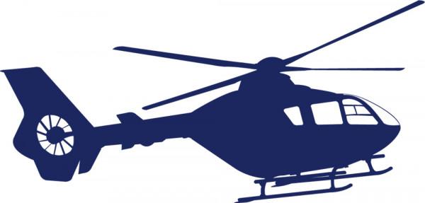 Wandtattoo Kinderzimmer Hubschrauber Helikopter
