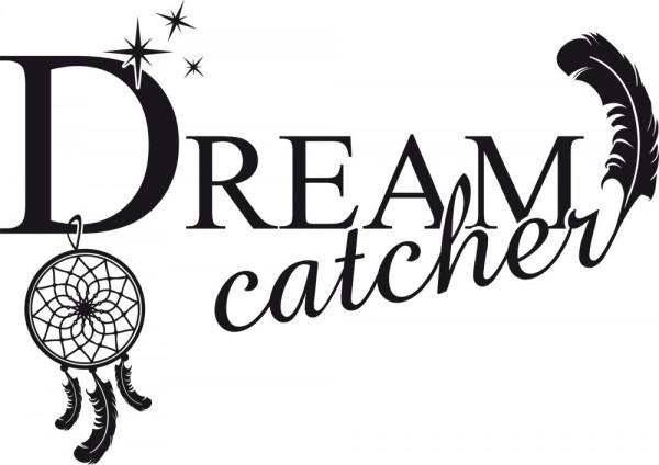 Wandtattoo für Schlafzimmer Deko Wandtatoo Aufkleber Sprüche Dreamcatcher